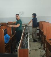 Palestine Polytechnic University (PPU) - تحديث واعادة تاهيل مختبرات الحاسوب في كلية المهن التطبيقية